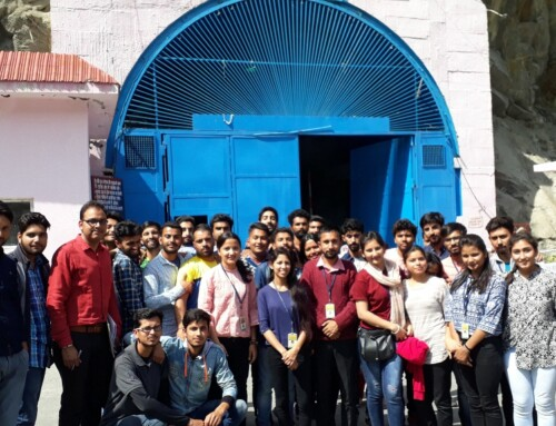Educational/Industrial visit to Chamera-III Hydro Electric Power Project, Chamba.